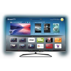 "Foto Smart TV LED 3D 47"" Philips Série 8000 Full HD 47PFL8008G/78"