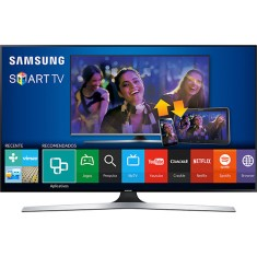 "Foto Smart TV LED 3D 48"" Samsung Full HD UN48J6400 4 HDMI"