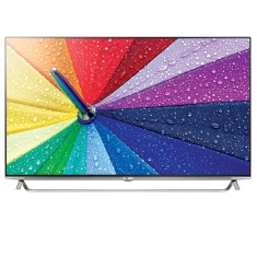 "Foto Smart TV LED 3D 49"" LG 4K 49UB8550 4 HDMI"