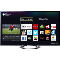 "Foto Smart TV LED 3D 55"" Sony Bravia Full HD KDL-55W955A"