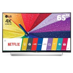 "Foto Smart TV LED 3D 65"" LG 4K 65UG8700 4 HDMI"