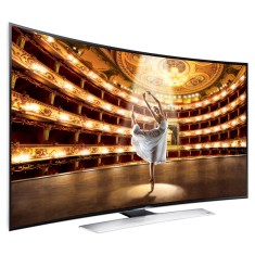 "Foto Smart TV LED 3D 65"" Samsung Série 9 4K UN65HU9000"