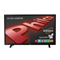 "Foto Smart TV LED 40"" Philco Full HD PH40E20DSGWA 3 HDMI"