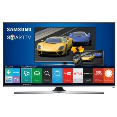 "Foto Smart TV LED 40"" Samsung Série 5 Full HD UN40J5500 3 HDMI"