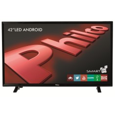 "Foto Smart TV LED 42"" Philco PH42B51DSGWA 2 HDMI LAN (Rede)"