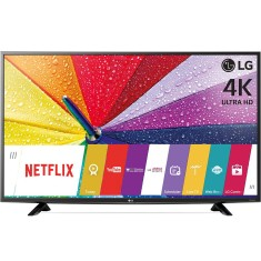"Foto Smart TV LED 43"" LG 4K 43UF6400 2 HDMI LAN (Rede)"