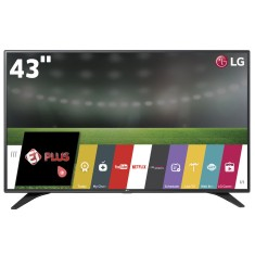 "Foto Smart TV LED 43"" LG Full HD 43LH6000 3 HDMI"