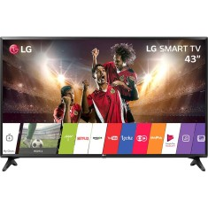 "Foto Smart TV LED 43"" LG Full HD 43LJ5500 2 HDMI"