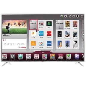 "Foto Smart TV LED 47"" LG Full HD 47LB5800 3 HDMI"