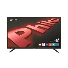"Foto Smart TV LED 49"" Philco Full HD PH49U21DSGW 3 HDMI"