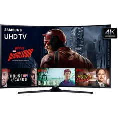 "Foto Smart TV LED 49"" Samsung 4K UN49KU6300"