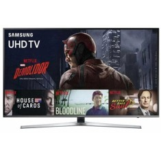 "Foto Smart TV LED 49"" Samsung Série 6 4K HDR UN49KU6400"
