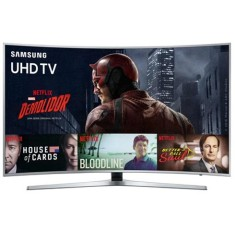 "Foto Smart TV LED 49"" Samsung Série 6 4K HDR UN49KU6500"