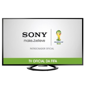 "Foto Smart TV LED 50"" Sony Bravia Full HD KDL-50W705A 4 HDMI"