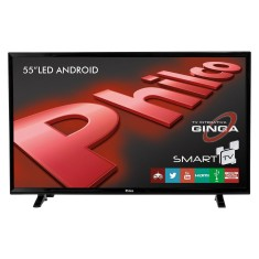 "Foto Smart TV LED 55"" Philco Full HD PH55E20DSGWA 3 HDMI"