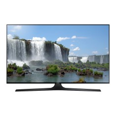 "Foto Smart TV LED 55"" Samsung Série 6 Full HD UN55J6300 4 HDMI"