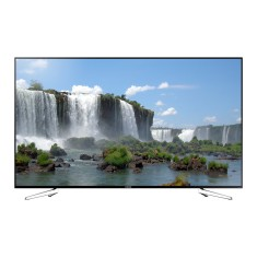 "Foto Smart TV LED 75"" Samsung Série 6 Full HD UN75J6300 4 HDMI"