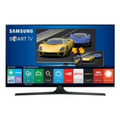 "Foto Smart TV LED 75"" Samsung Série 6 Full HD UN75J6300AG 4 HDMI"