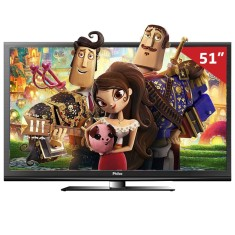 "Foto Smart TV Plasma 3D 51"" Philco PH51A36PSG 3 HDMI PC"