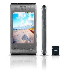 Foto Smartphone LG Optimus GT540 Android 3,0 MP