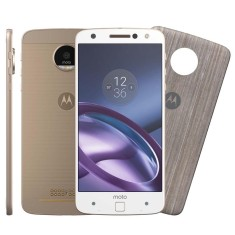 Foto Smartphone Motorola Moto Z Z Style Edition 64GB XT1650-03 13,0 MP 2 Chips Android 6.0 (Marshmallow) 3G 4G Wi-Fi