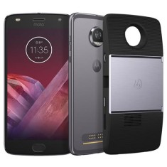 Foto Smartphone Motorola Moto Z Z2 Play Projector Edition 64GB xt1710 12,0 MP 2 Chips Android 7.1 (Nougat) 3G 4G Wi-Fi
