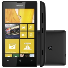 Foto Smartphone Nokia Lumia 8GB 520 Windows Phone