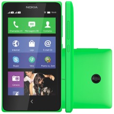 Foto Smartphone Nokia X Dual 4GB 3,0 MP 2 Chips