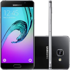 Foto Smartphone Samsung Galaxy A5 2016 A510 16GB 13,0 MP 2 Chips Android 5.1 (Lollipop) 3G 4G Wi-Fi