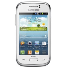 Foto Smartphone Samsung Galaxy Young Duos TV 4GB GT-S6313T