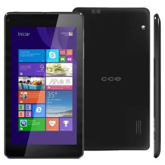 "Foto Tablet CCE TF74W 16GB 7"" Windows 2 MP 8.1"