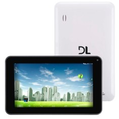 "Foto Tablet DL Eletrônicos Eagle 4GB 7"" Android 0,3 MP 4.1 (Jelly Bean)"