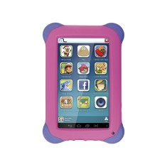 "Foto Tablet Multilaser Kid Pad NB194 8GB 7"" Android 2 MP 4.4 (Kit Kat)"