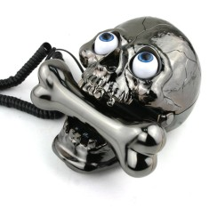 Foto Telefone com Fio South Sunny Jumping Eyes Skull AR-5058