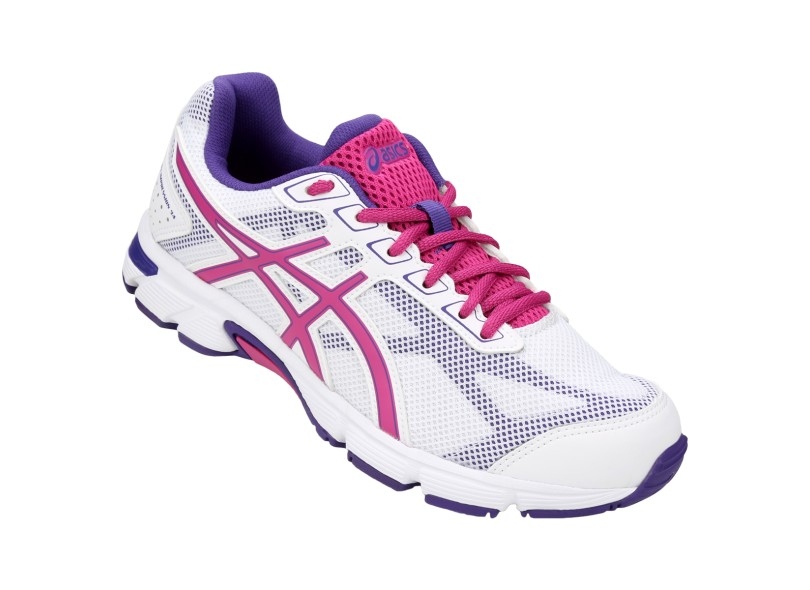 tenis asics rosa feminino