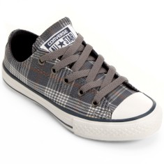Foto Tênis Converse All Star Infantil (Menino) CT AS PLAID OX Casual