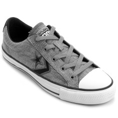 Foto Tênis Converse Unissex Star Player Jeans Ev Ox Casual