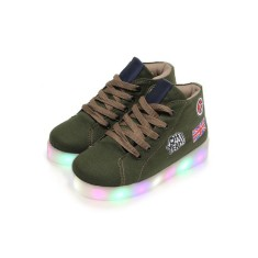 Foto Tênis Dok Infantil (Menino) Led Viena Light 77001 Casual