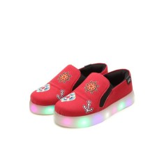 Foto Tênis Dok Infantil (Menino) Led Viena Light 77006 Casual