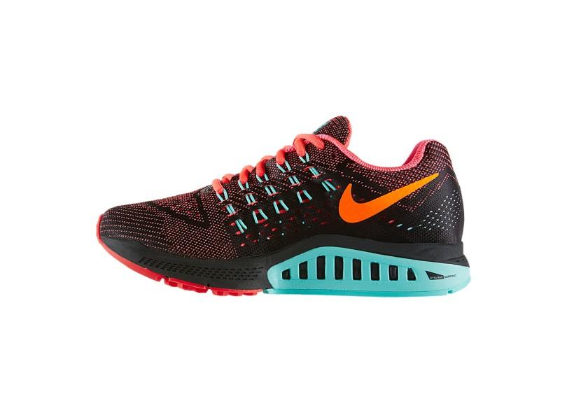 Tênis Nike Feminino Corrida Air Zoom Structure 18  5a82ccd672fae