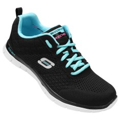 Foto Tênis Skechers Feminino Flex Appeal Obvious Choice Caminhada