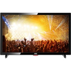 "Foto TV LED 19"" AOC LE19D1461 1 HDMI USB Frequência 60 Hz"