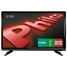 "Foto TV LED 22"" Philco Full HD PH22D16"