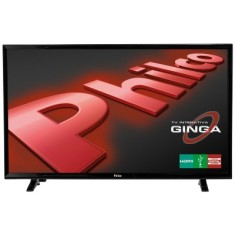 "Foto TV LED 39"" Philco PH39E31DG 2 HDMI USB Frequência 60 Hz"