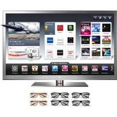 "Foto TV LED 72"" Smart TV LG Cinema 3D 3D Full HD 4 HDMI 72LM9500"