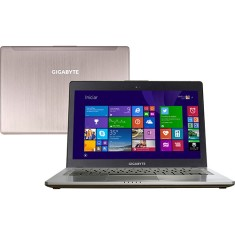 "Foto Ultrabook Gigabyte U24F Intel Core i7 4500U 14"" 8GB HD 750 GB SSD 128"