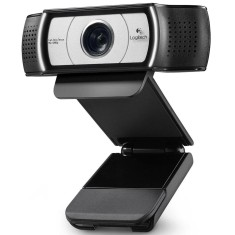 Foto WebCam Logitech 3 MP Filma em Full HD C930E