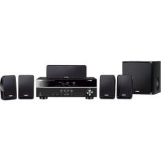 Home Theater Yamaha 3D 500 W 5.1 Canais 5 HDMI YHT-1810