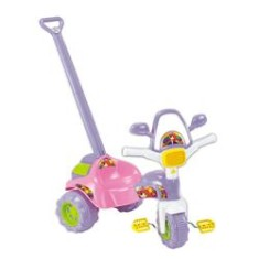 Triciclo com Pedal Magic Toys Tico-Tico Meg