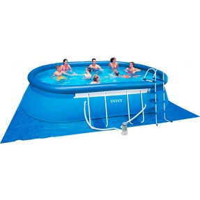 Piscina Inflável 10.920 l Oval Intex 28191